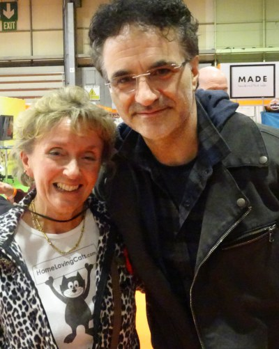 Professor Noel Fitzpatrick and Home Loving Cats